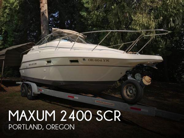 1998 Maxum 2400 SCR