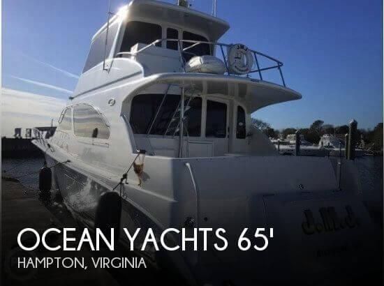 2003 Ocean Yachts 65 Ocean Odyssey