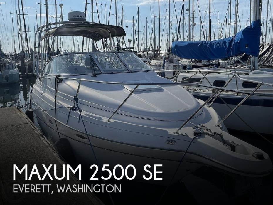 2004 Maxum 2500 SE