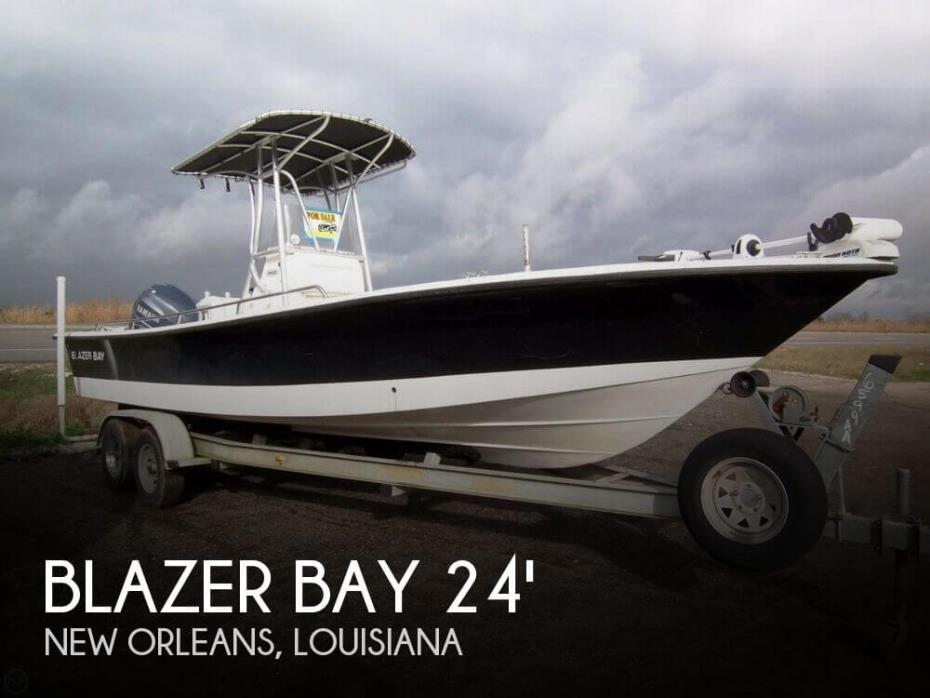2005 Blazer Bay 24 Bay Boat