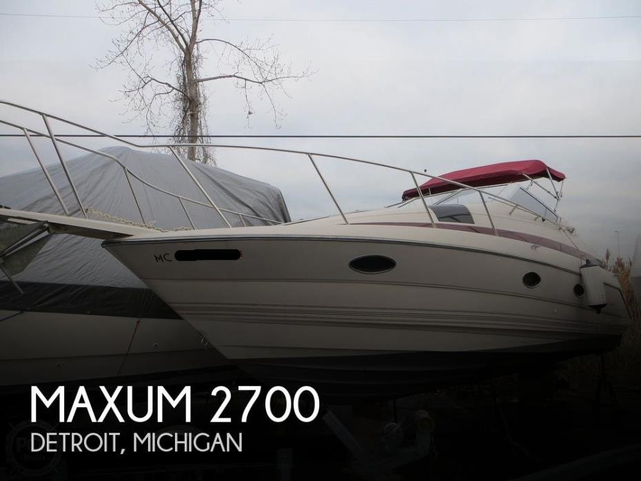 1990 Maxum 2700 SCR