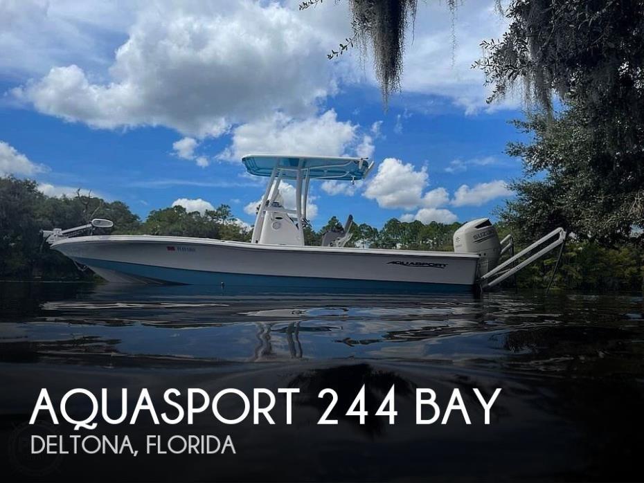 2020 Aquasport 244 Bay