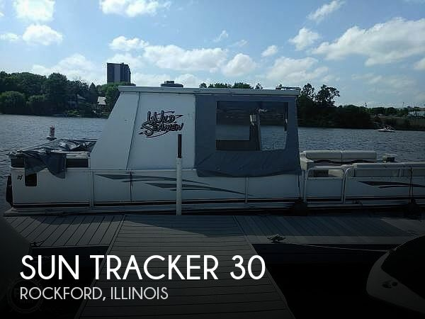 1997 Sun Tracker Party Barge 30