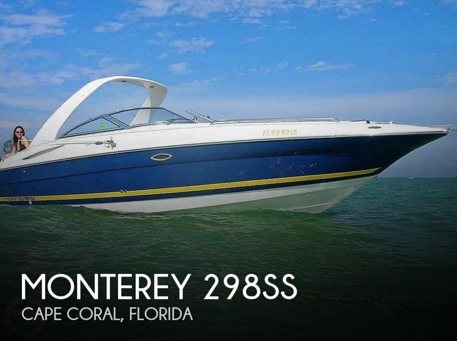 2002 Monterey 298SS