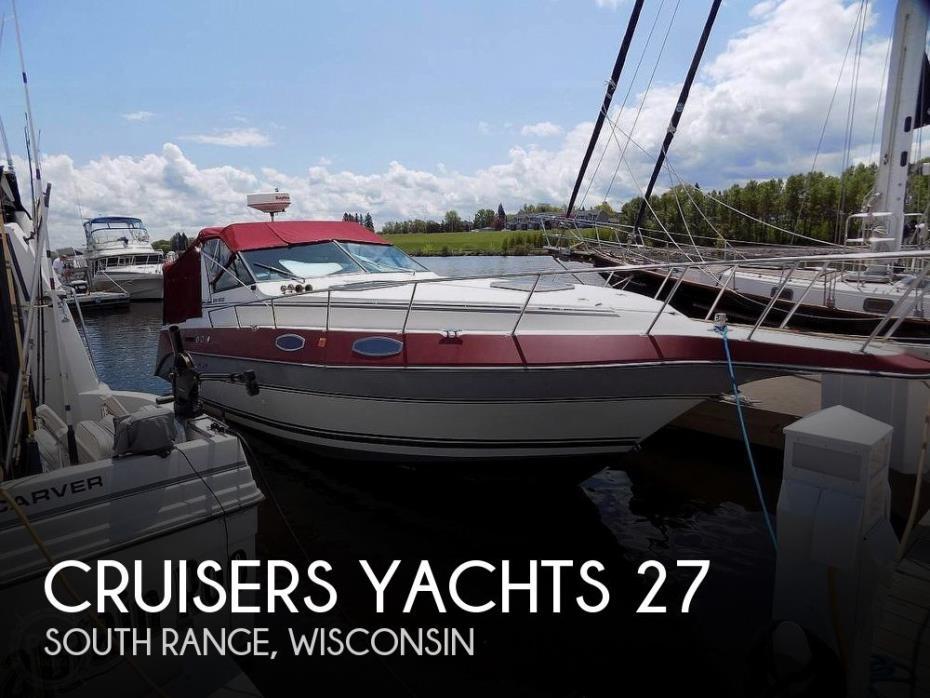 1987 Cruisers Yachts 27