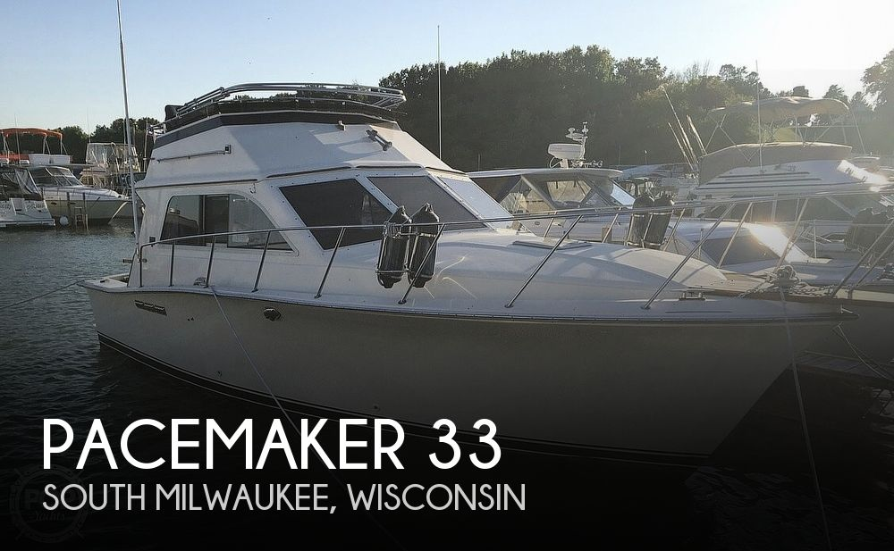 1989 Pacemaker 33 Convertible