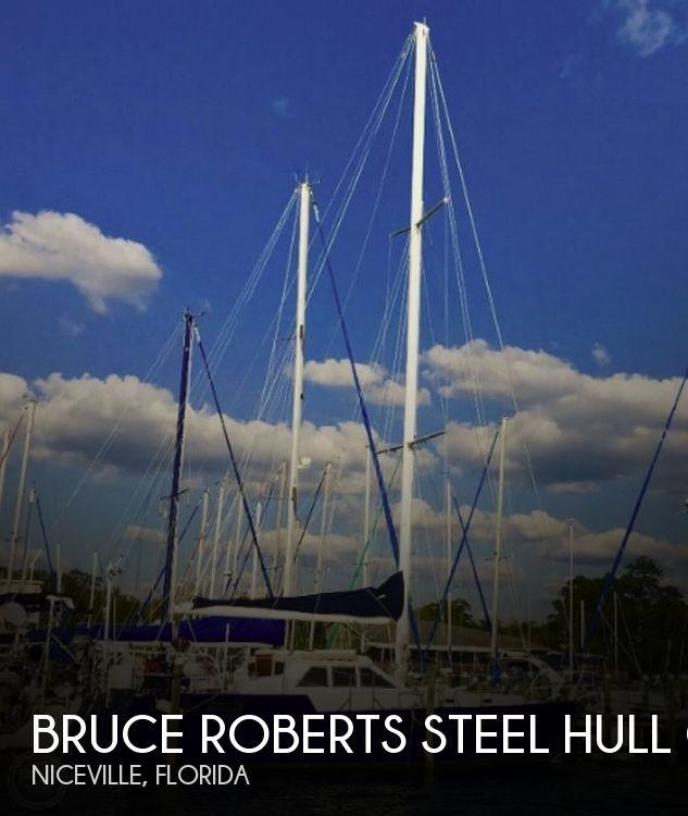 1998 Bruce Roberts Steel 43 Pilothouse