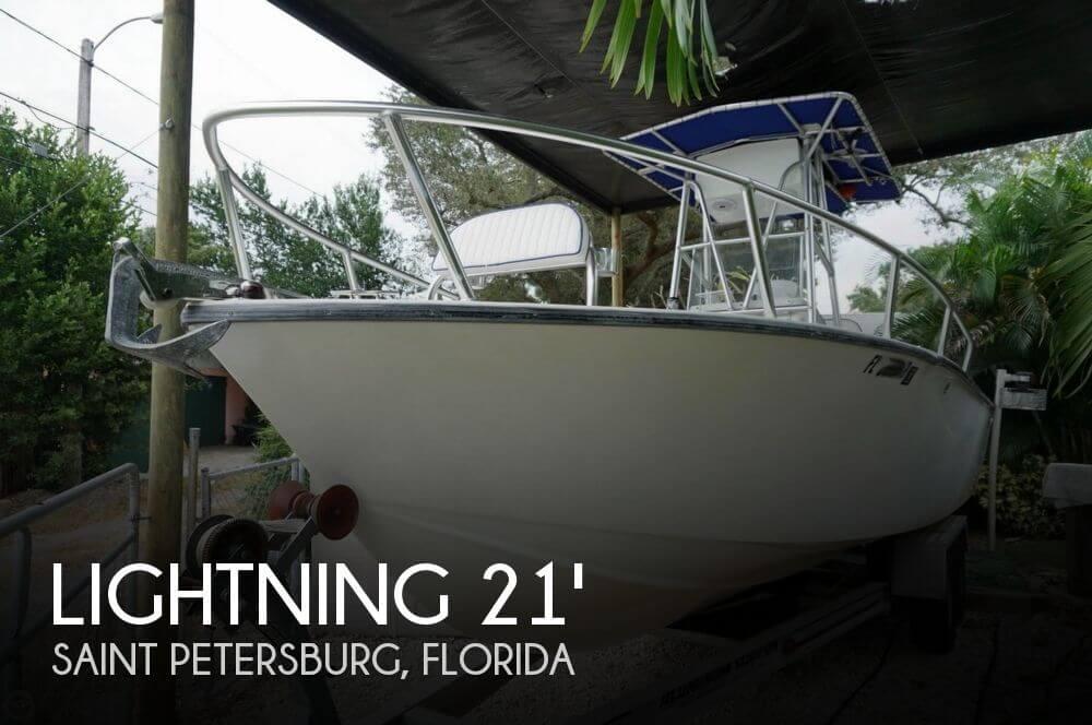 1998 Lightning 21 Open Fisherman