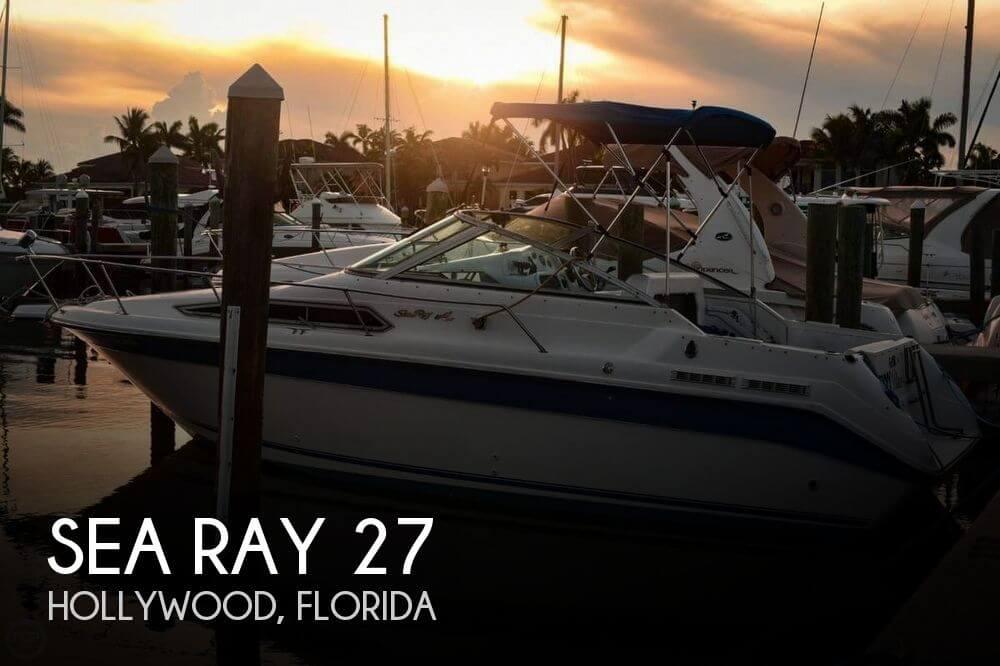 1993 Sea Ray 270 Sundancer