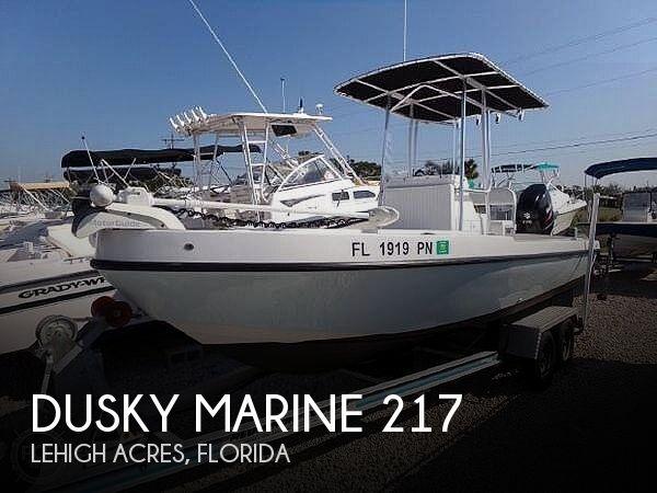2013 Dusky Marine 217 Open Fisherman