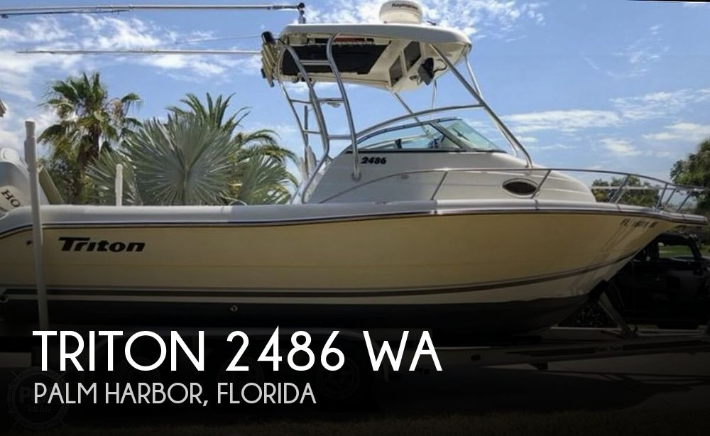 2003 Triton 2486 WA