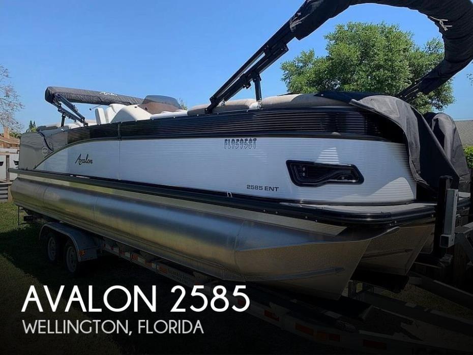 2020 Avalon Catalina 2585 Entertainer