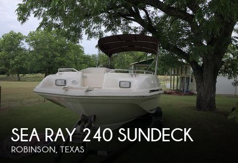 1999 Sea Ray 240 Sundeck