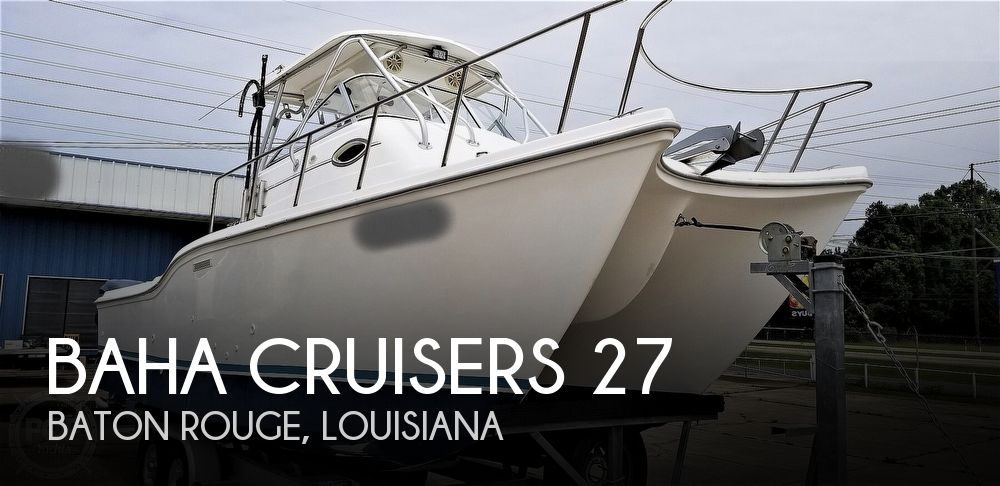 2002 Baha Cruisers 27