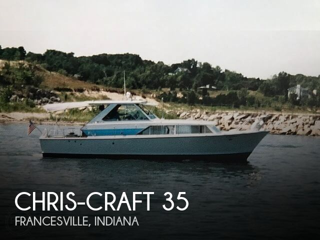 1966 Chris-Craft Corinthian Sea Skiff