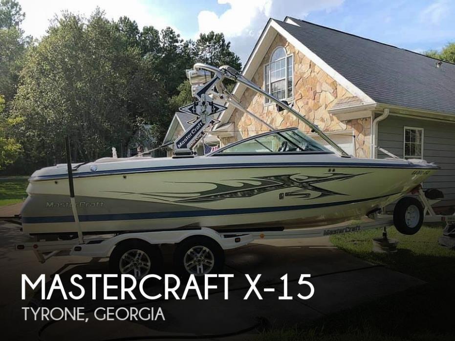 2007 Mastercraft X-15