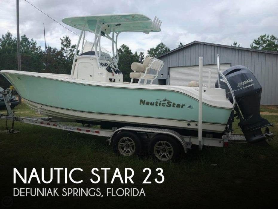 2017 Nautic Star 23