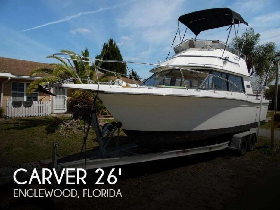 1985 Carver Santa Cruz 2667