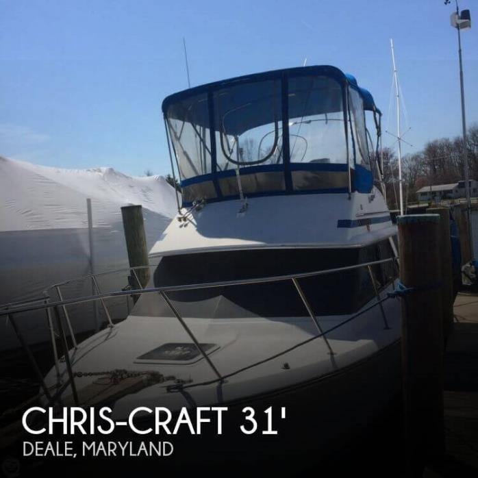 1988 Chris-Craft 315 Commander