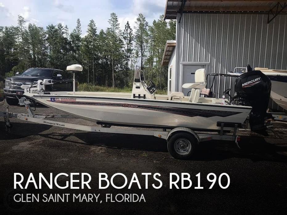 2020 Ranger Boats RB190