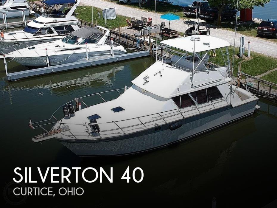 1988 Silverton 40 Convertible