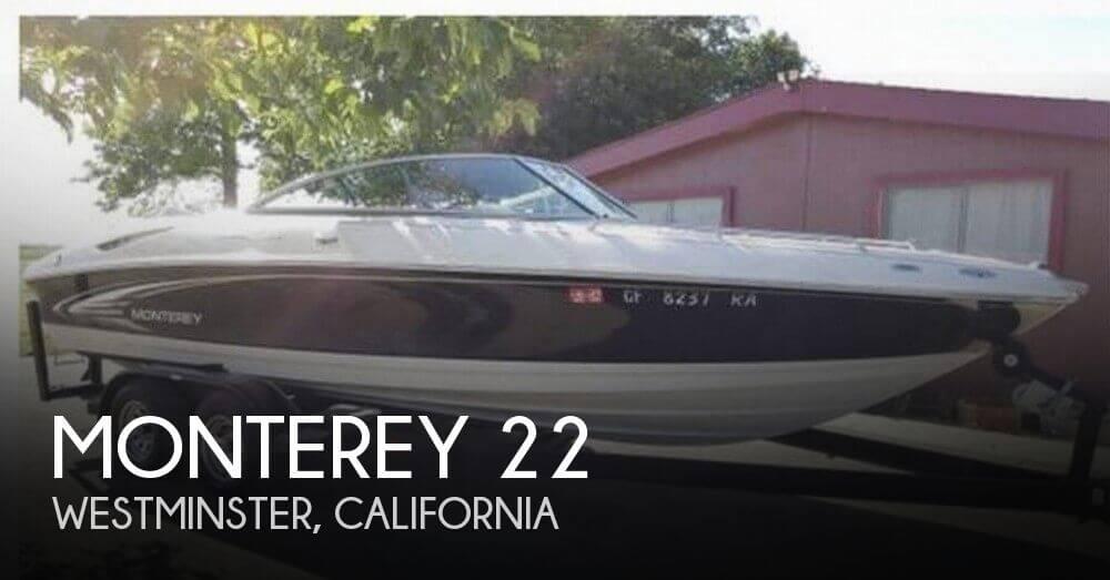 2004 Monterey 228 SI Montura