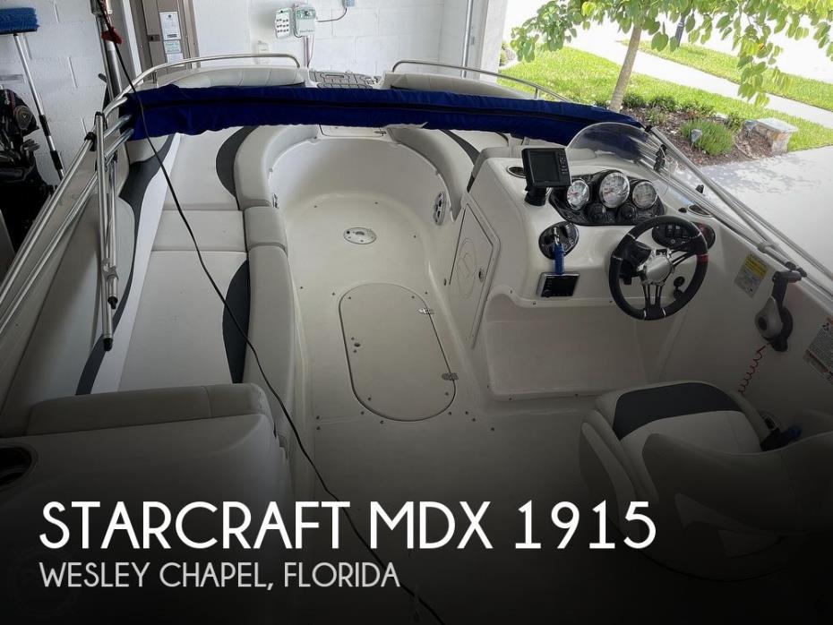 2019 Starcraft MDX 1915