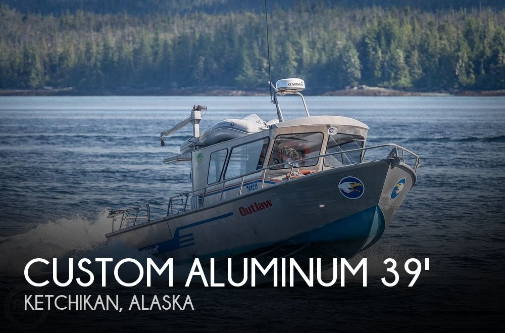 2004 Custom Aluminum Sportfisher - Edwing Boats