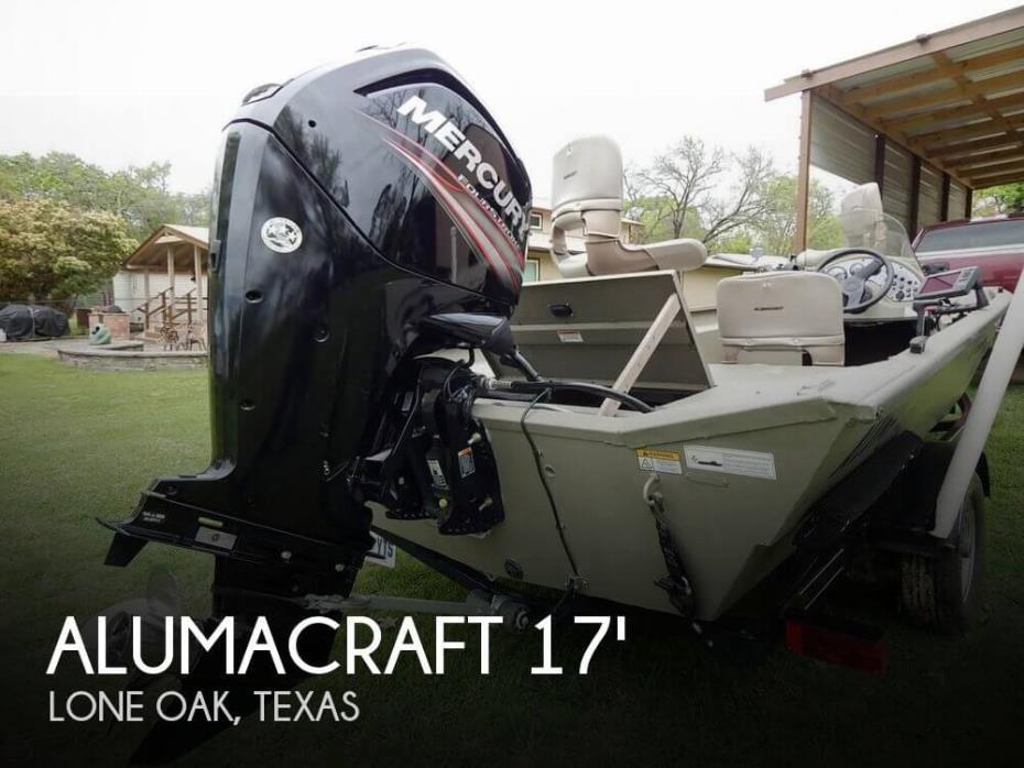 2015 Alumacraft MV 1756 SC