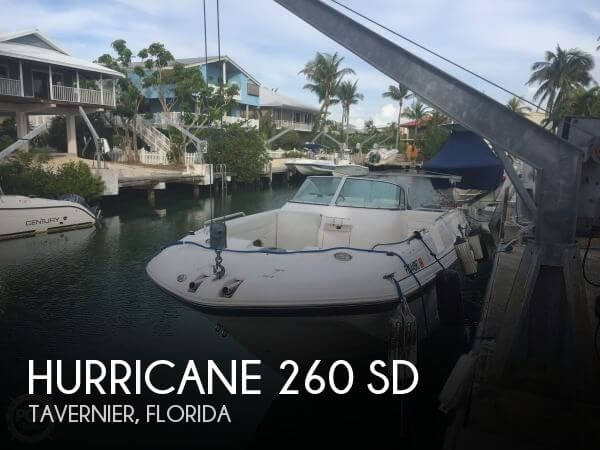 2005 Hurricane 260 SD