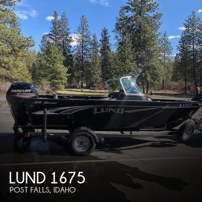2019 Lund 1675 Adventure XS