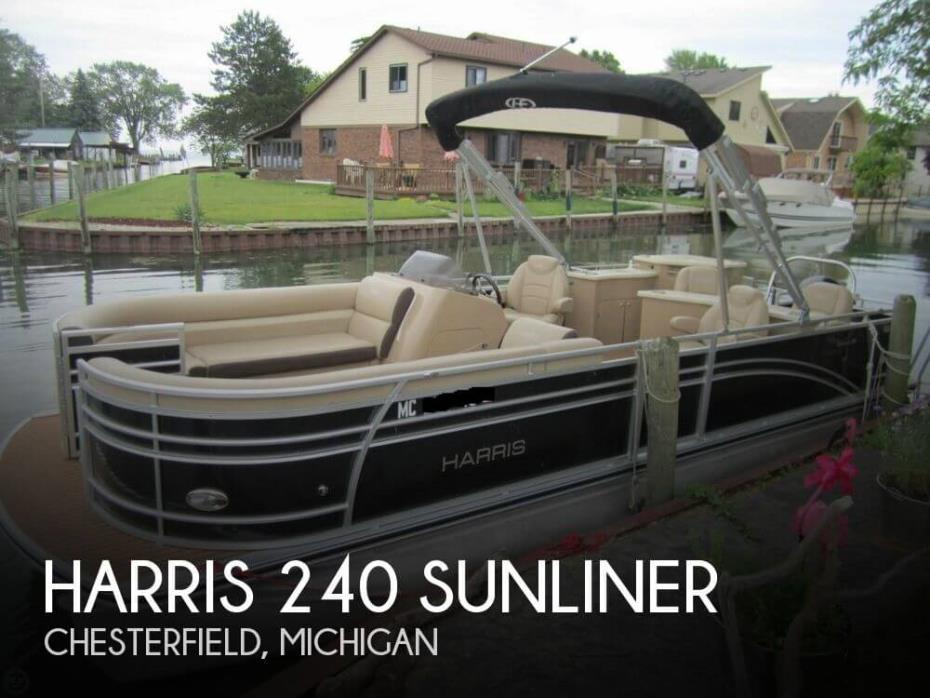 2015 Harris 240 Sunliner