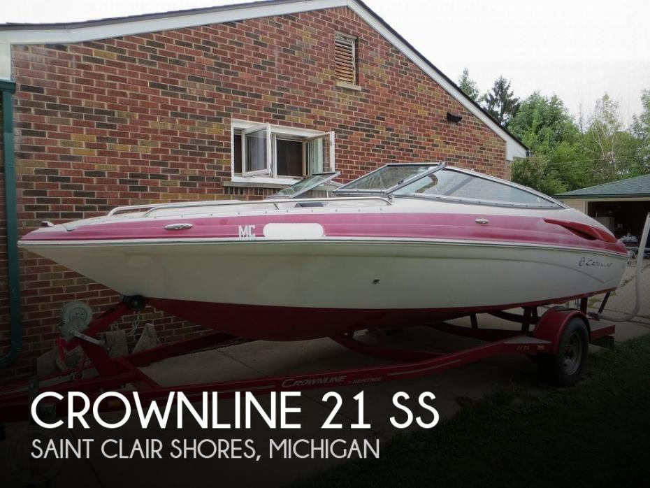 2013 Crownline 21 Ss