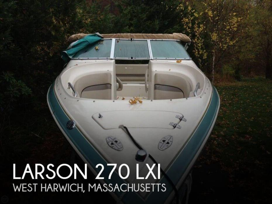 2003 Larson 270 LXI