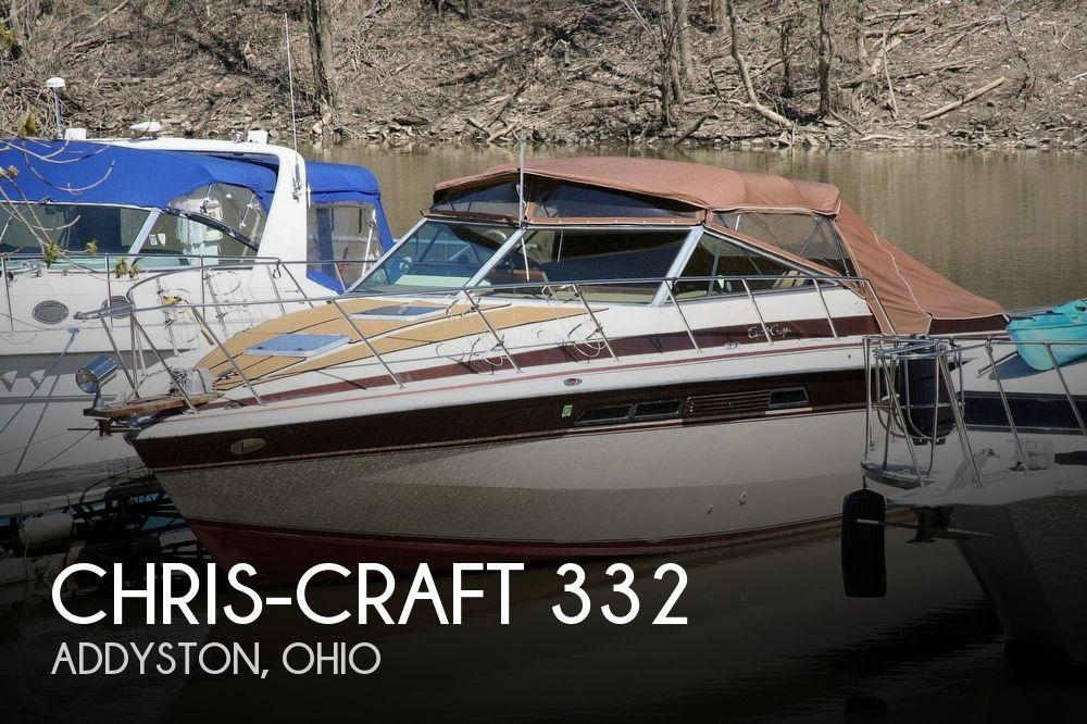 1980 Chris-Craft 332 Express