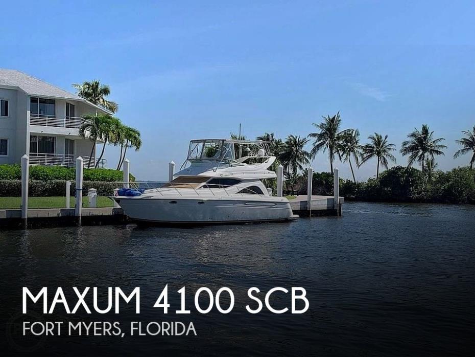 2001 Maxum 4100 SCB