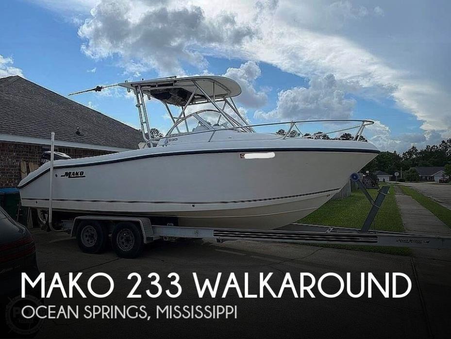 2001 Mako 233 Walkaround