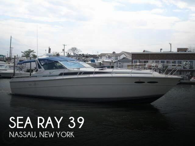 1987 Sea Ray 390 Express Cruiser - Rebuilt CAT Diesels
