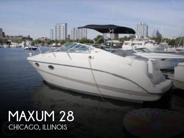 2001 Maxum 2700 SCR
