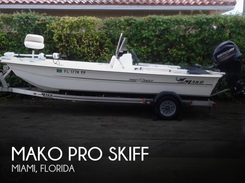2013 Mako Pro Skiff