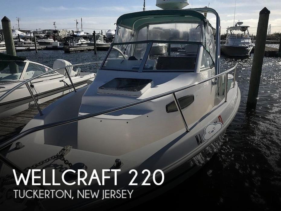 1998 Wellcraft 220 Coastal