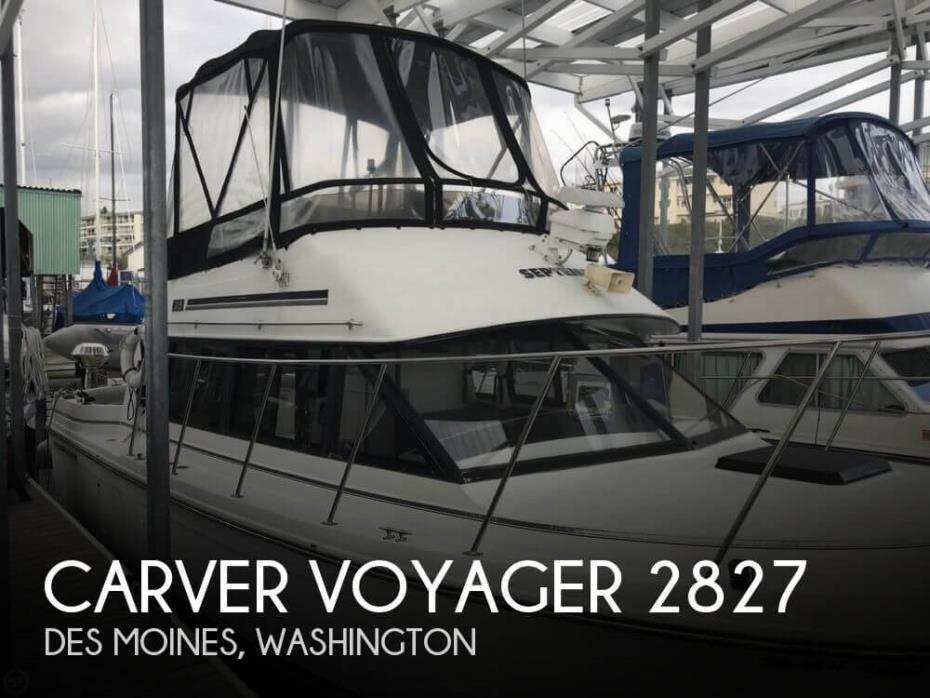 1988 Carver Voyager 2827