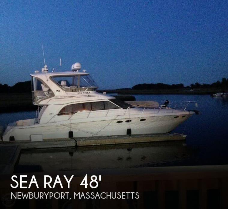 2002 Sea Ray 480 Sedan Bridge