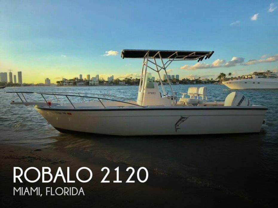1995 Robalo 2120