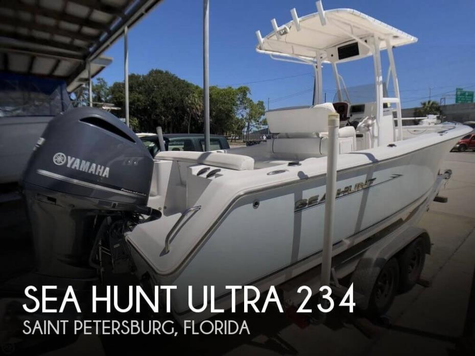 2012 Sea Hunt ULTRA 234