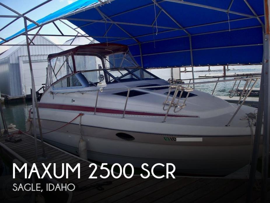 1992 Maxum 2500 SCR
