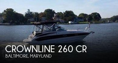 2012 Crownline 260 CR