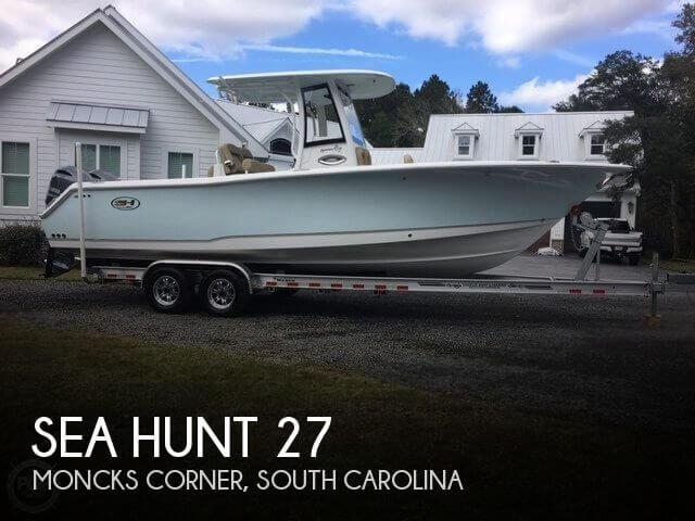 2018 Sea Hunt 27 Gamefish