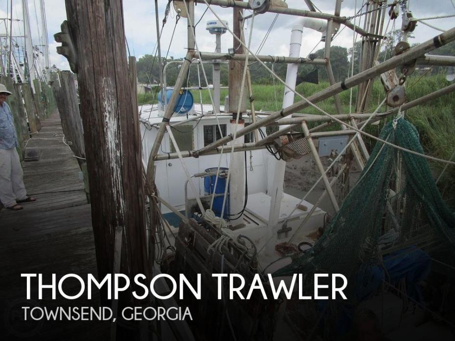 1970 Thompson Trawler