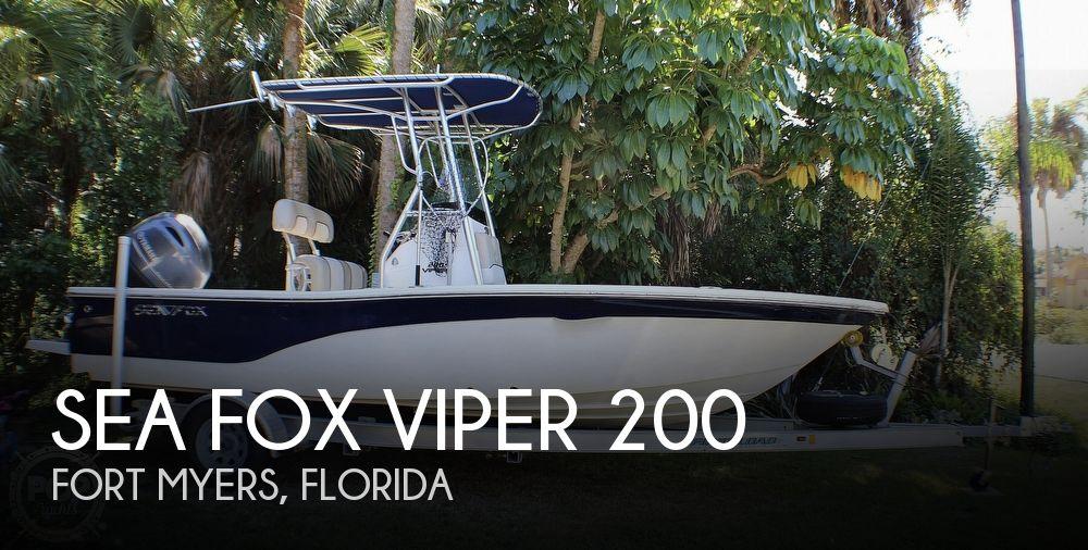 2016 Sea Fox 200 Viper